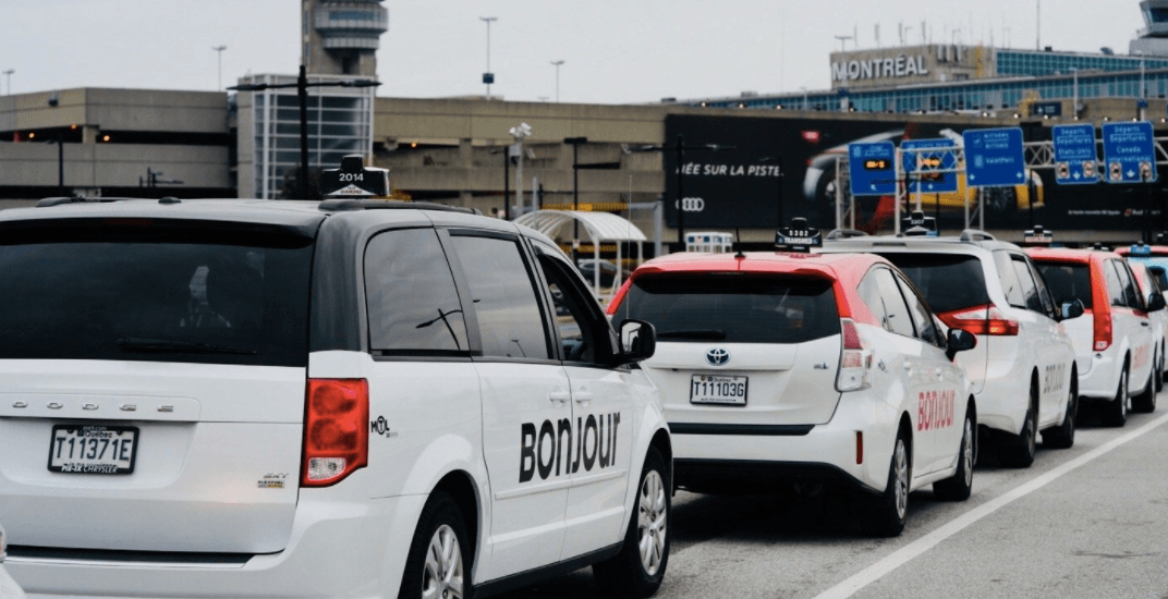 Over 300 'Bonjour' taxis are now in service at Montreal-Trudeau airport