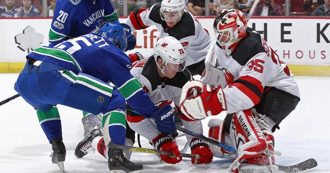 SixPack: Canucks outplay Devils but can't beat Cory Schneider
