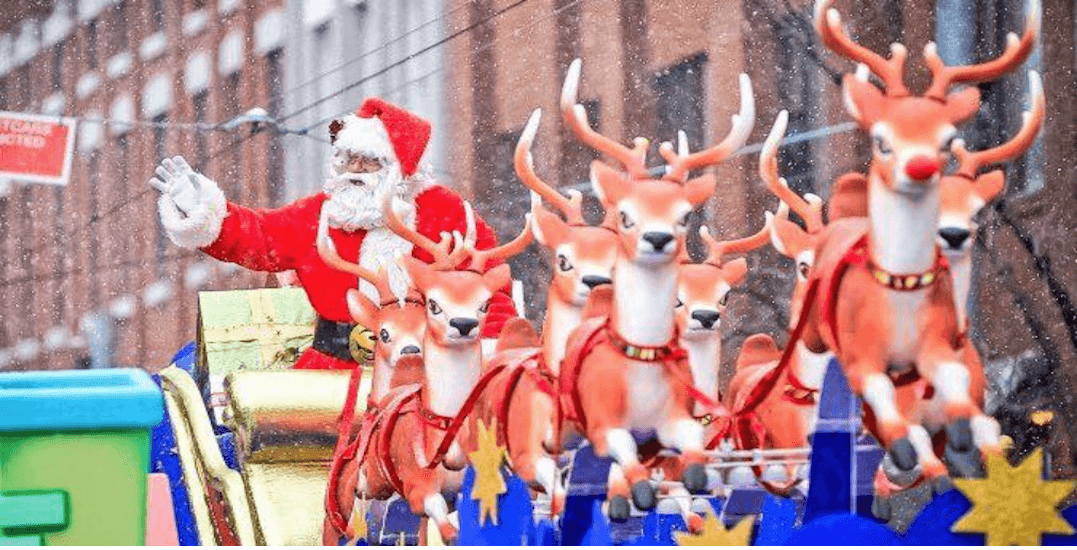 Details released about this year's Toronto Santa Claus Parade (MAP)