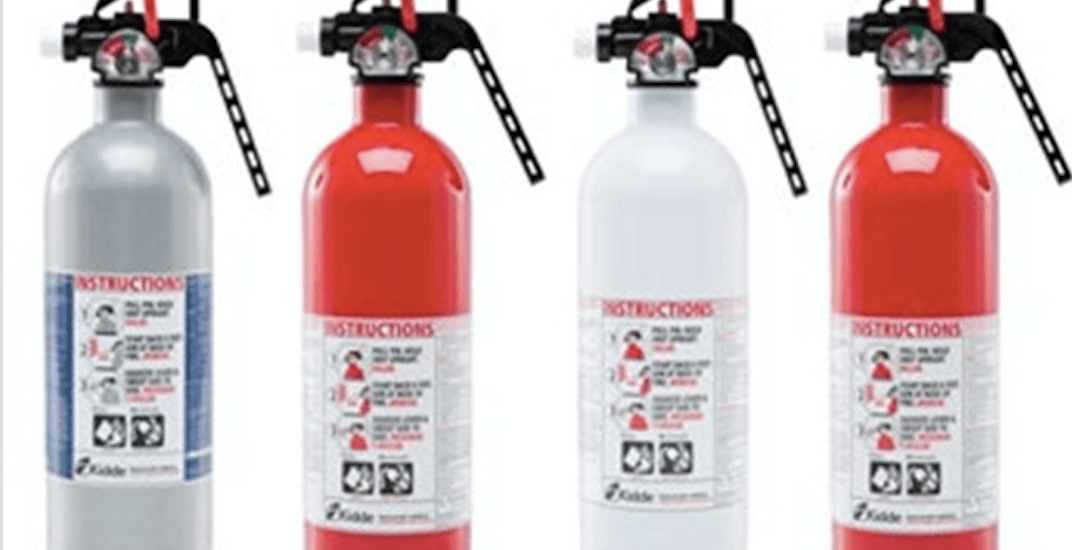 2.7 million fire extinguishers being recalled in Canada for being defective