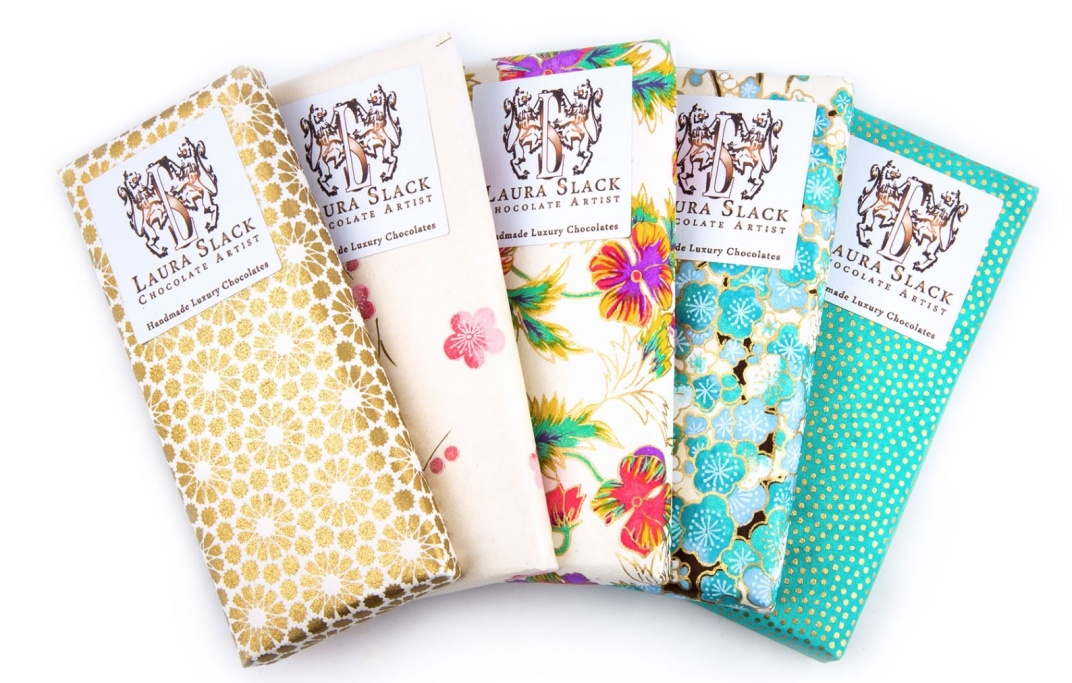 Laura Slack chocolate bars