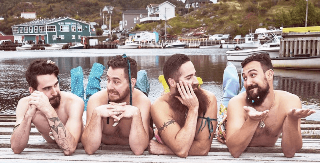 The viral 'sexy Canadian Mermen' calendar raised $300,000 for mental health