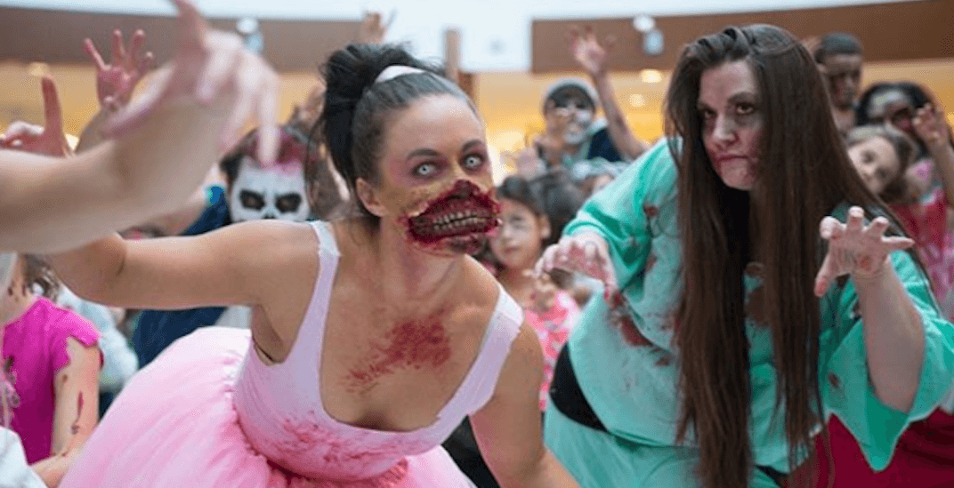 'Thriller' zombie flash mob infected Southcentre Mall last Saturday (PHOTOS, VIDEOS)