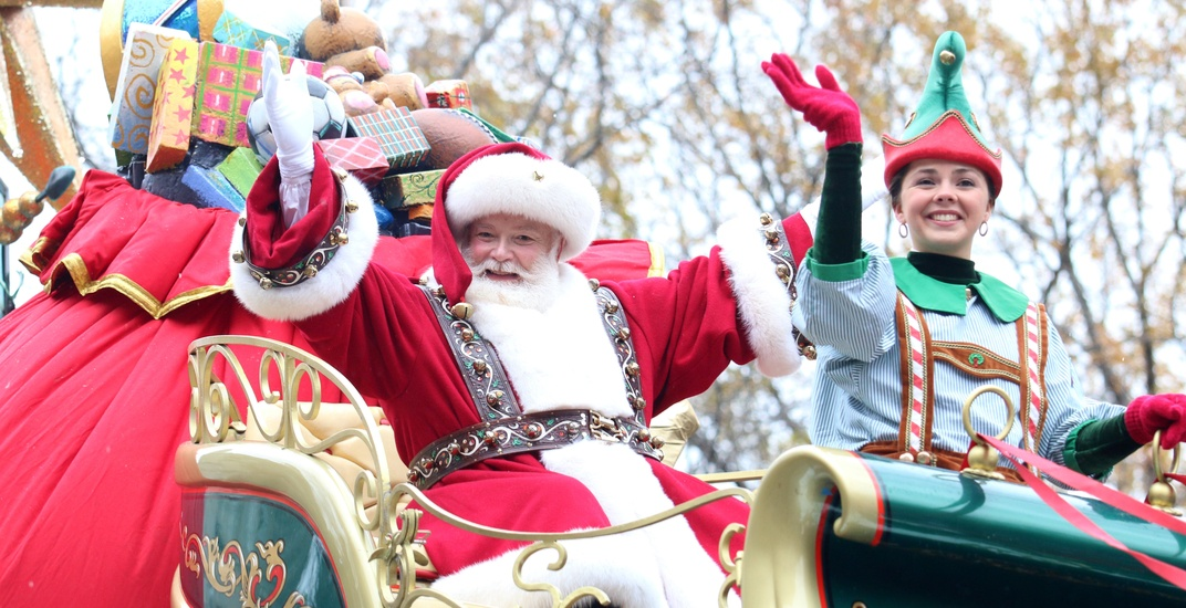 Here comes Santa: The Plaza St-Hubert Christmas Parade is happening today