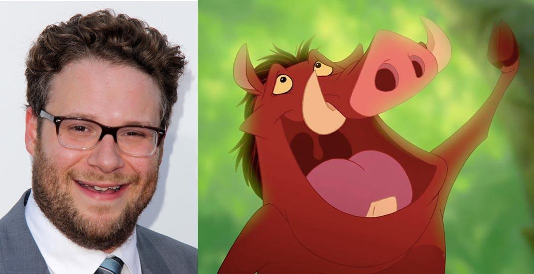 Vancouver S Seth Rogen To Star In Disney S The Lion King Live Action Film Curated