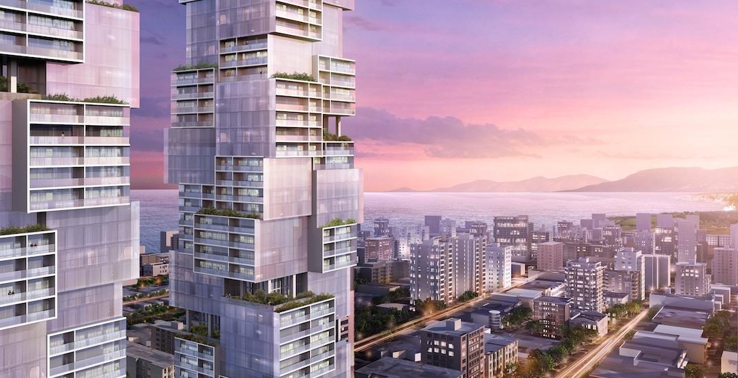 1070 barclay street vancouver bosa properties twin towers buro ole scheeren f