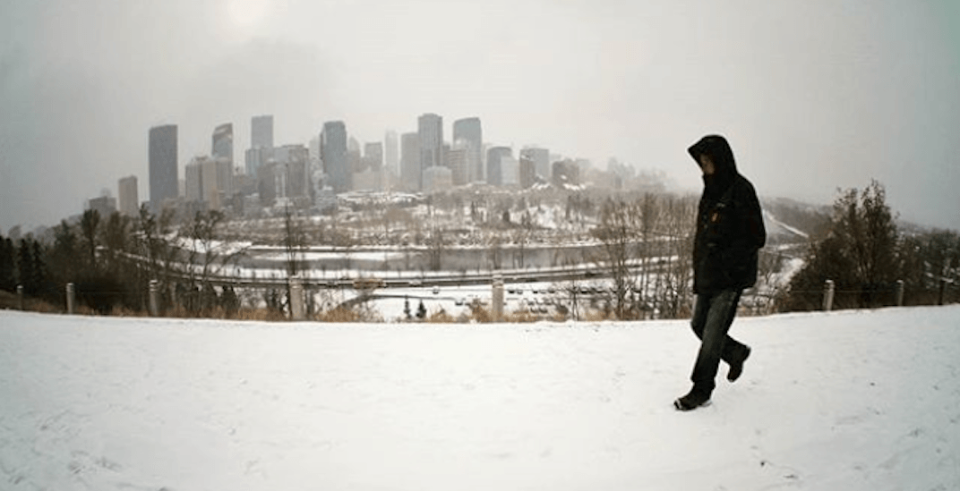 Calgary can expect up to 20 cm of snow by Friday morning
