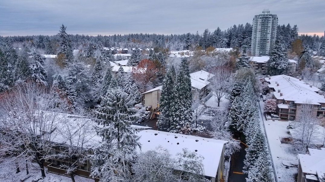 Vancouver Christmas Snow.It S Official Confidence Is Increasing Of Snow In