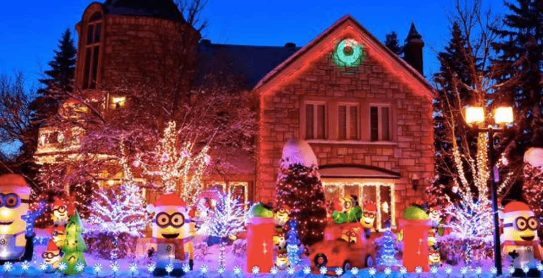 This Montreal home will have an epic Christmas display with 100,000 lights