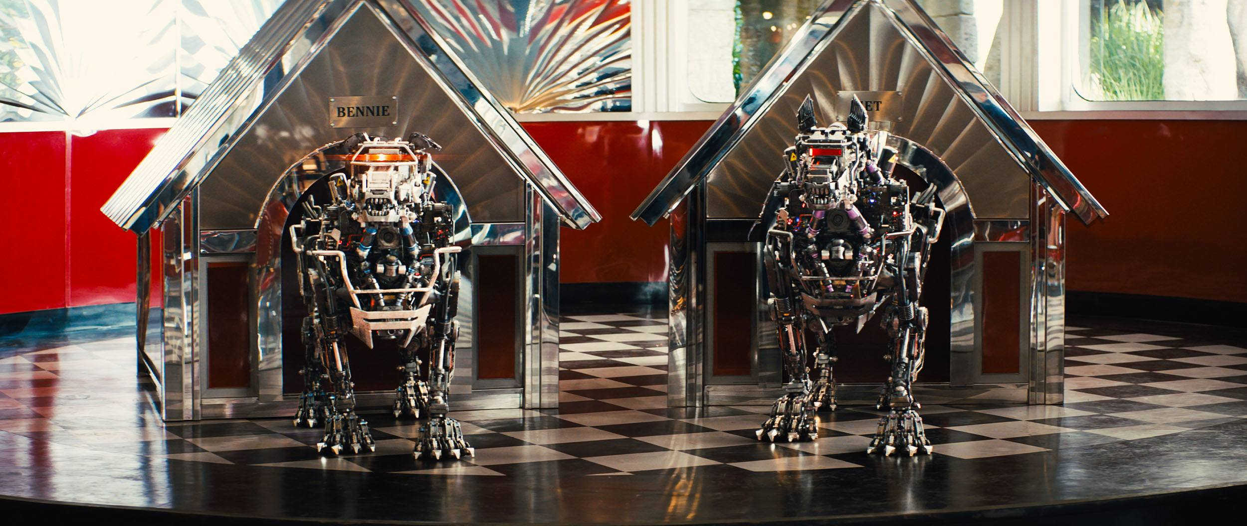 Robot dogs in Kingsman: The Golden Circle (Sony Pictures Imageworks)