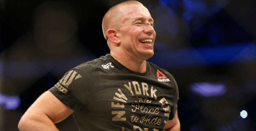 Canadian Georges St-Pierre wins in his return to UFC