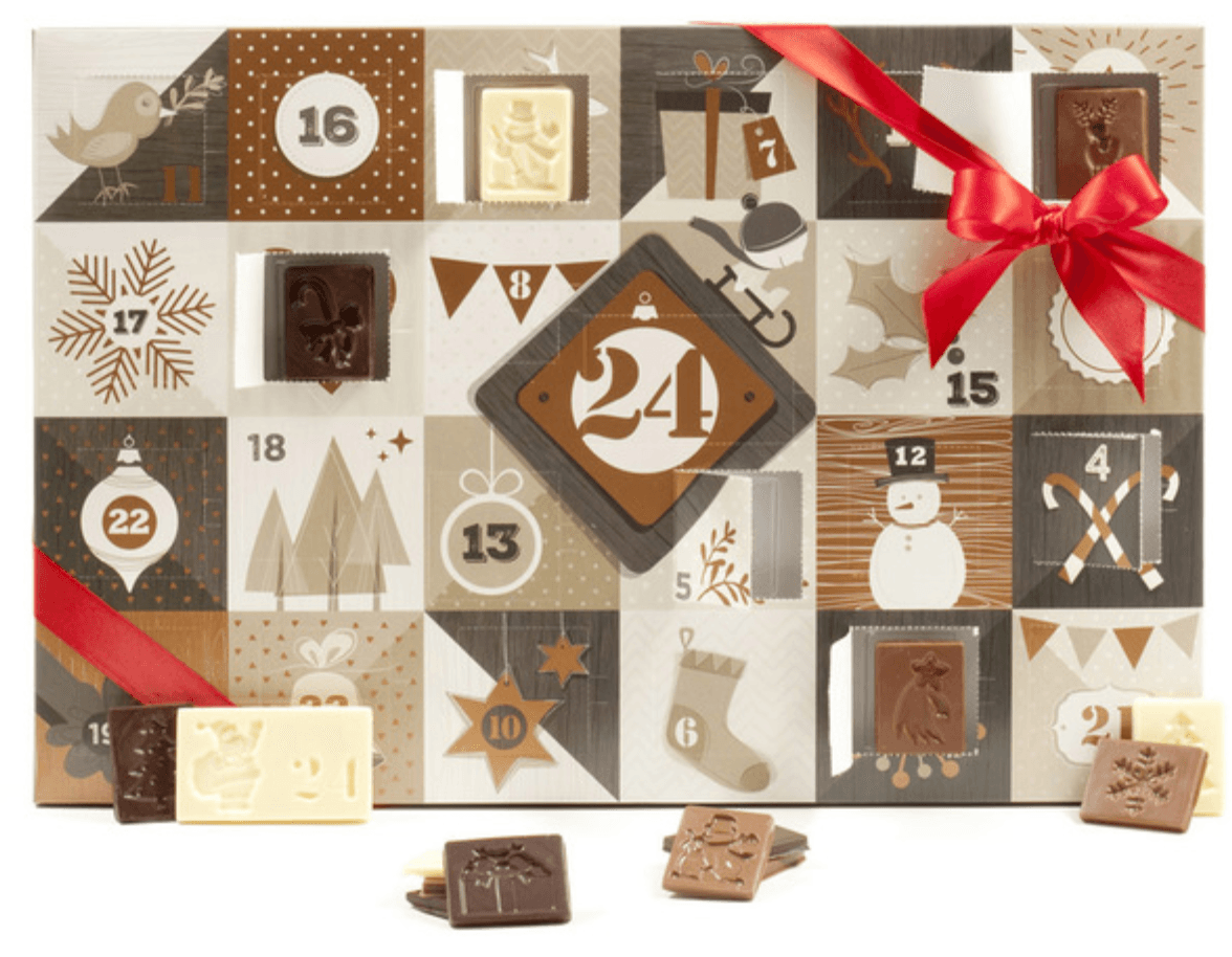 Stubbe Chocolates advent calendar