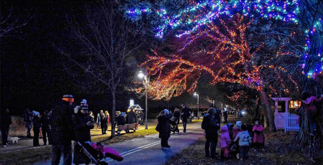 The Beaches boardwalk will be lit up with 80,000 lights again this winter (VIDEO)