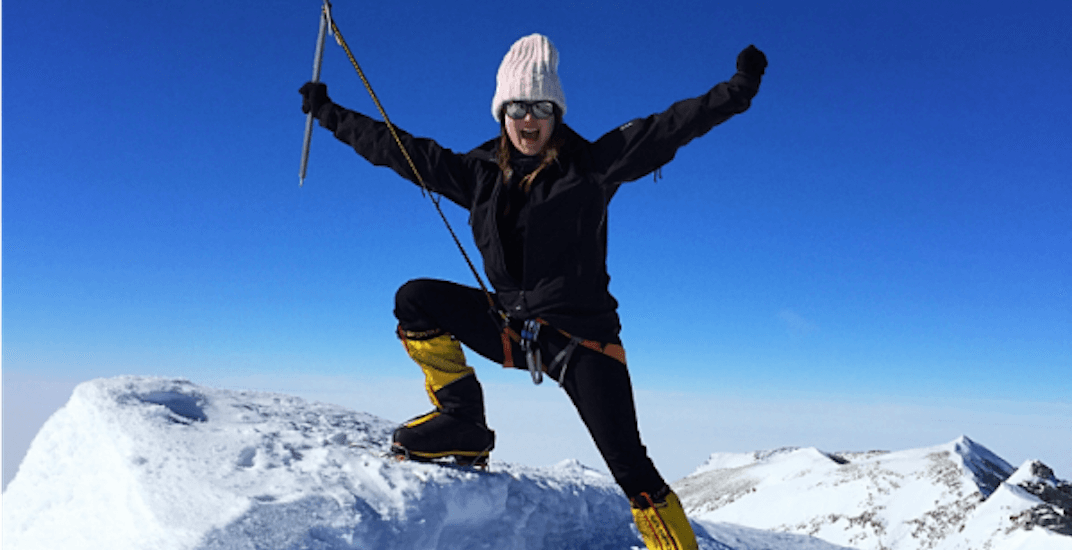 This Metro Vancouver woman climbed tallest mountain on 7 different continents