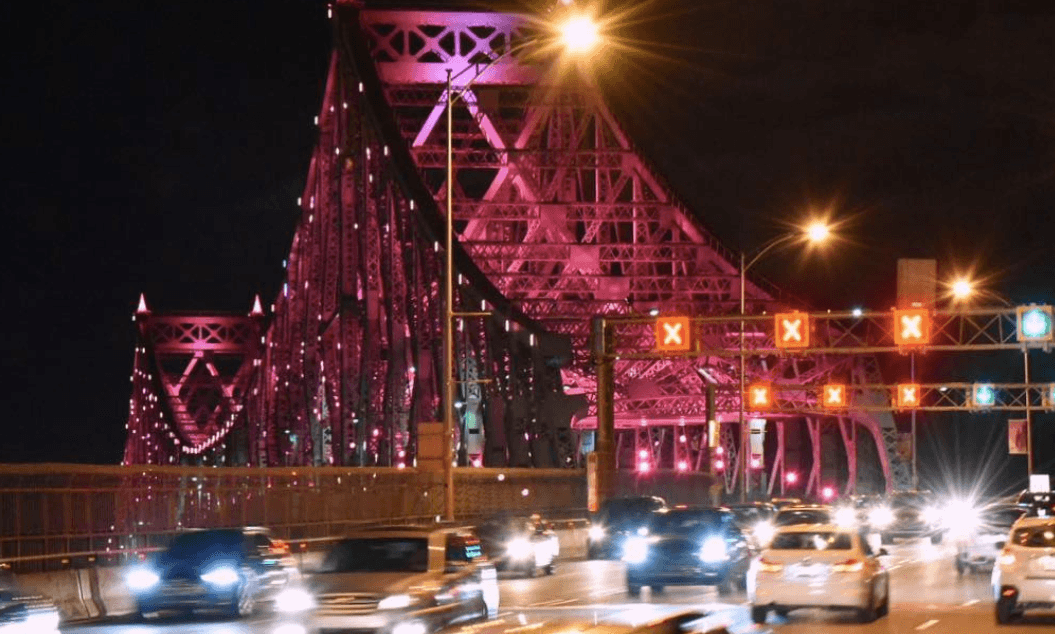 Pink for Plante? Here's why the Jacques Cartier Bridge lit up last night
