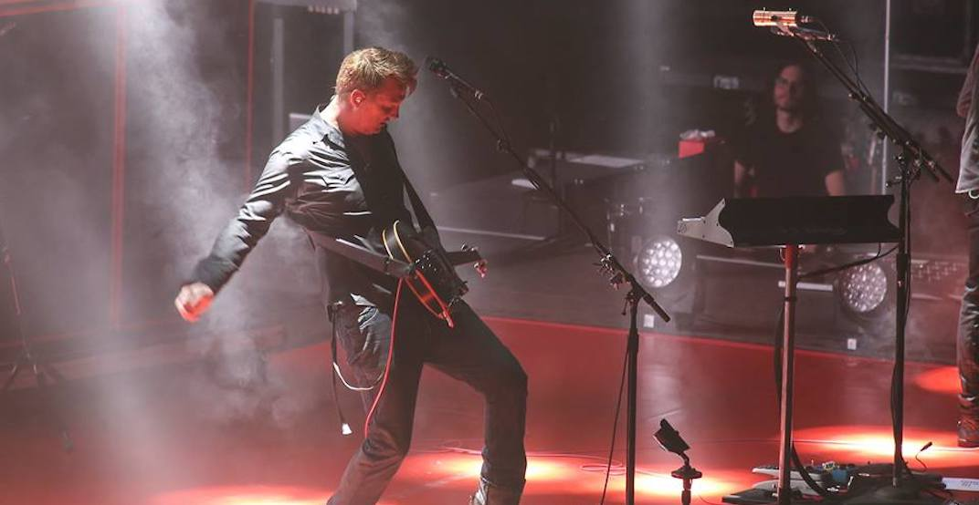 Queens of the Stone Age Calgary 2018 concert at the Saddledome
