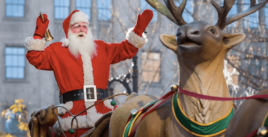 Details released for the 2017 Montreal Santa Claus Parade