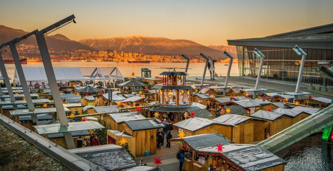 Sunsetvancouver christmas market