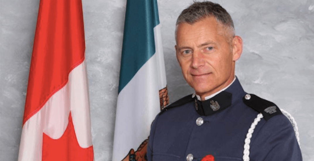 Vancouver landmarks will light up blue as a tribute to fallen Abbotsford officer this weekend