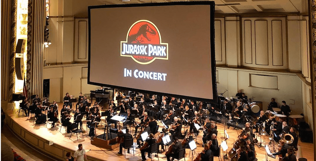 A gigantic Jurassic Park concert is coming to Montreal this spring
