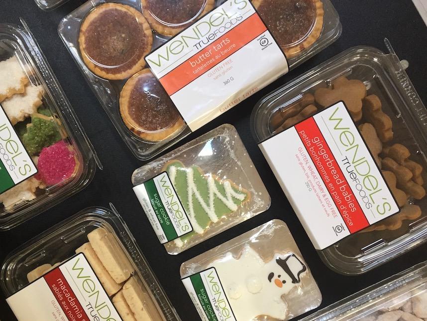 Wendel's Fine Foods gluten free treats