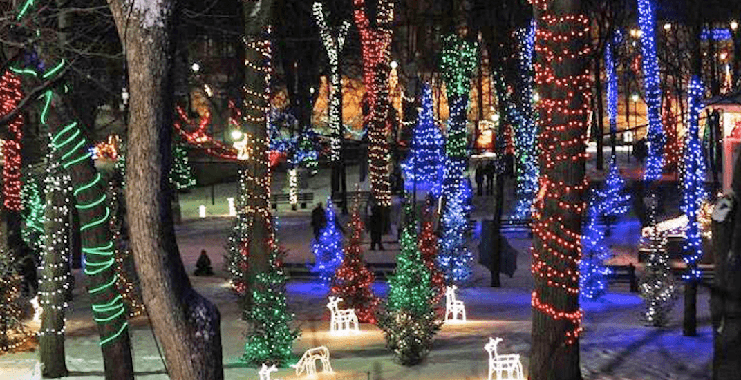 This magical Christmas lights festival is less than 2 hours from Montreal