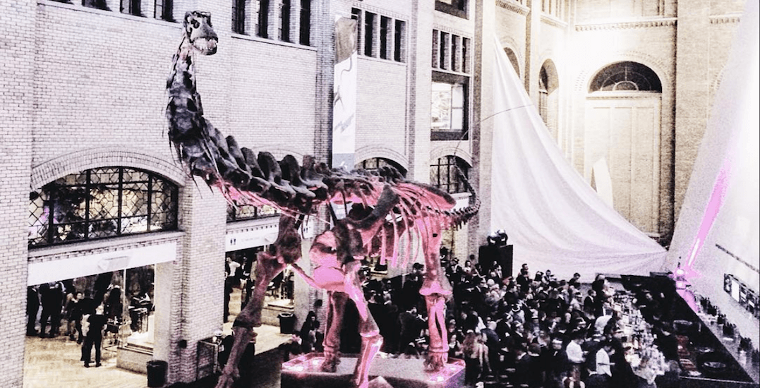 The ROM is throwing a huge New Year's Eve party this December 31
