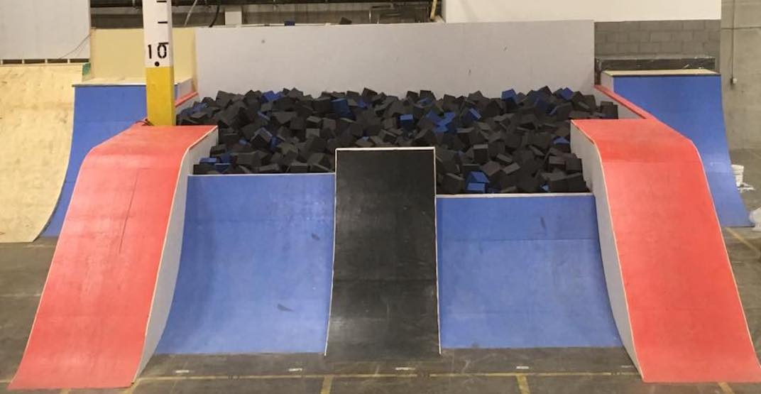 Calgary has a new indoor bike park, and it's huge (PHOTOS, VIDEOS)