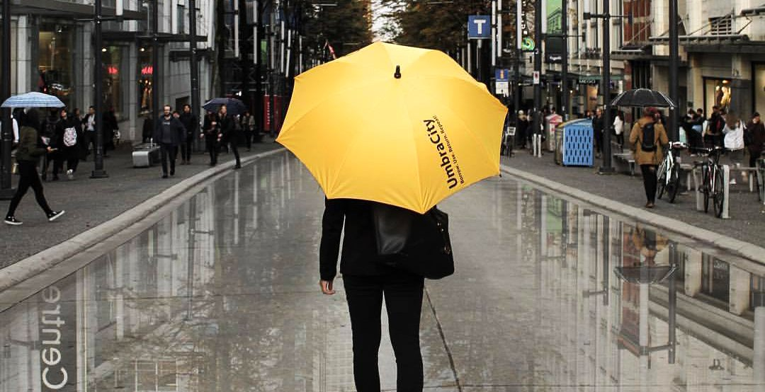 Umbrella sharing service expands to downtown Vancouver