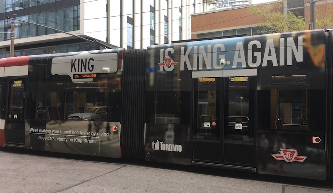 City preparing for King Street Pilot which launches this weekend