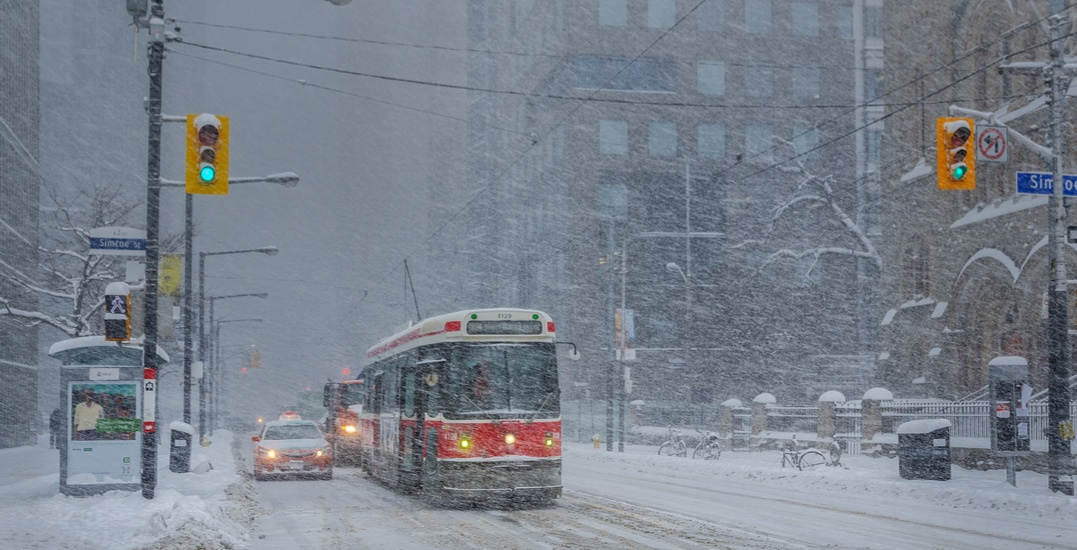 Environment Canada issues Winter Weather Travel Advisory for Toronto