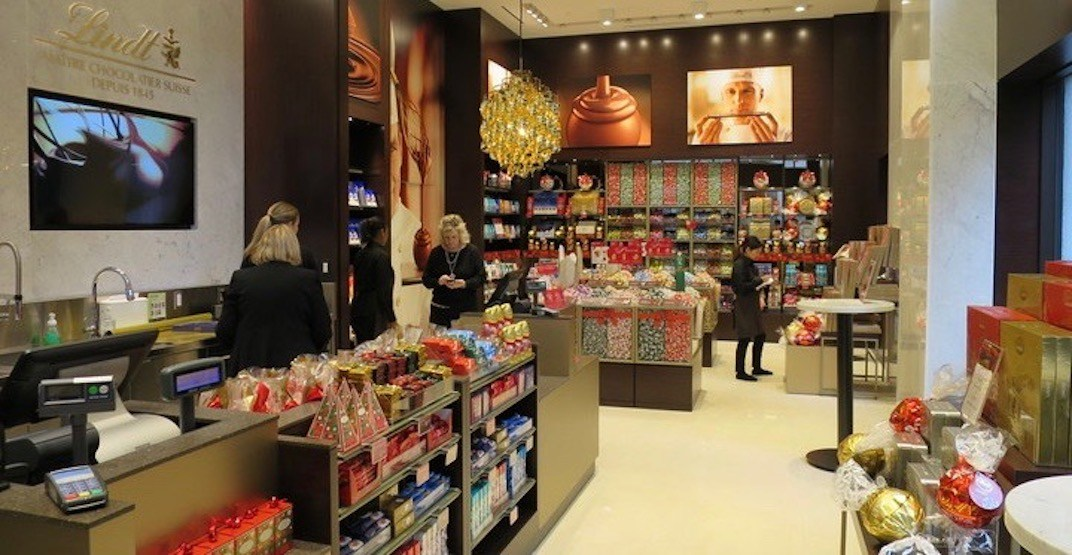 Check out Lindt's new downtown Vancouver store and cafe (PHOTOS)