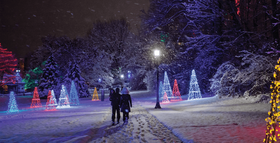 12 Places To See Spectacular Holiday Light Displays Near
