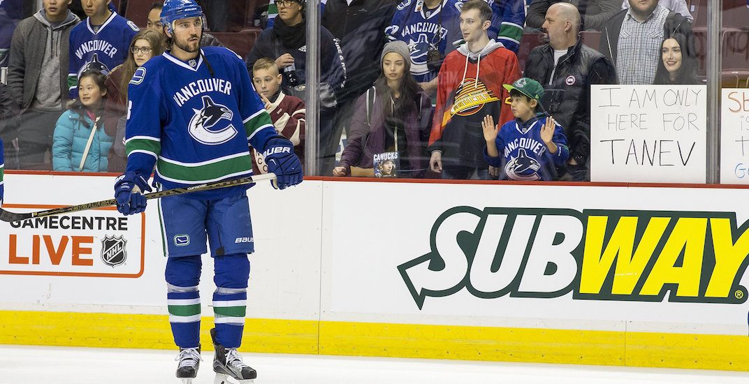 Vancouver Canucks' Chris Tanev is injured again