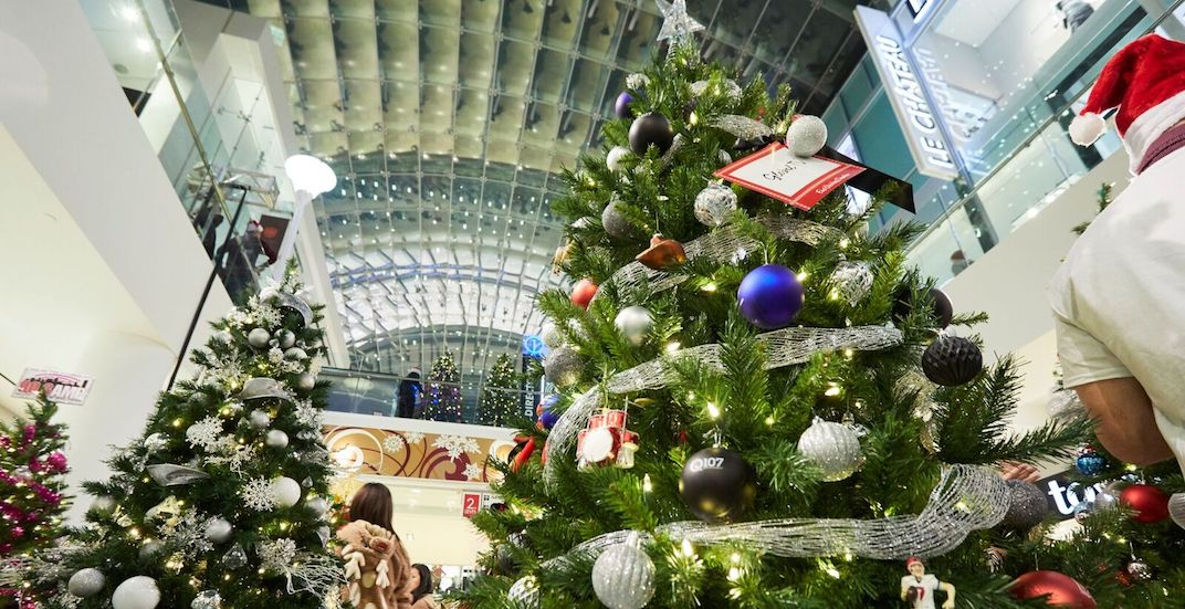 45-foot tall Christmas tree, fireworks, and live music at CORE shopping centre
