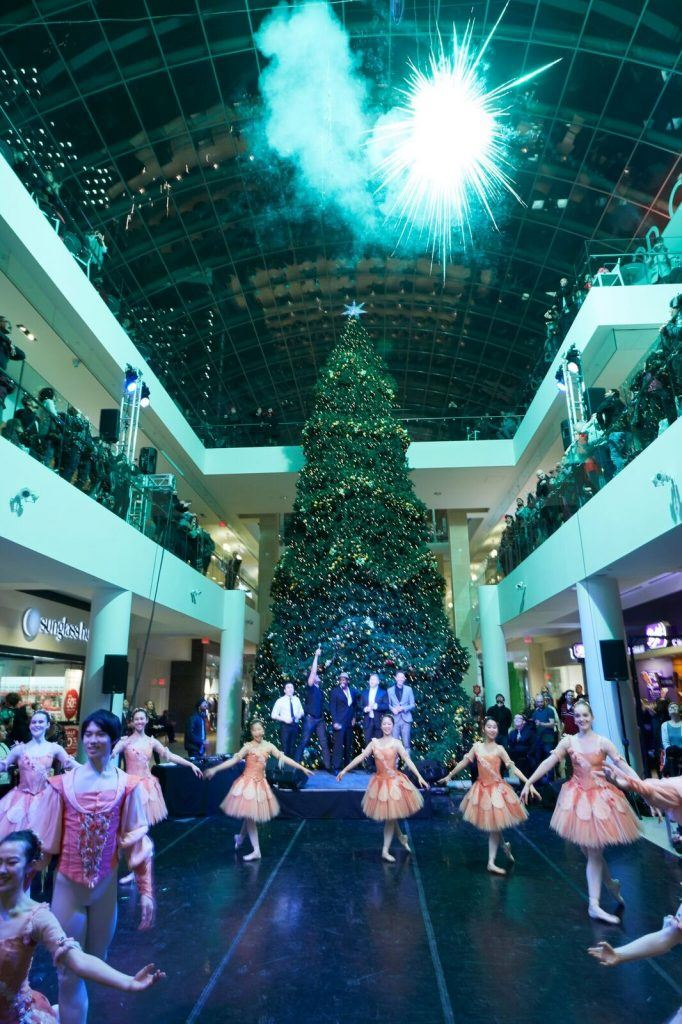christmas tree lighting at core shopping centre 2016 core shopping centre - Christmas Tree Shopping