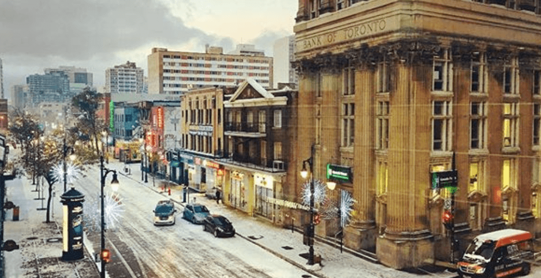 Flurries in the forecast for Montreal this weekend