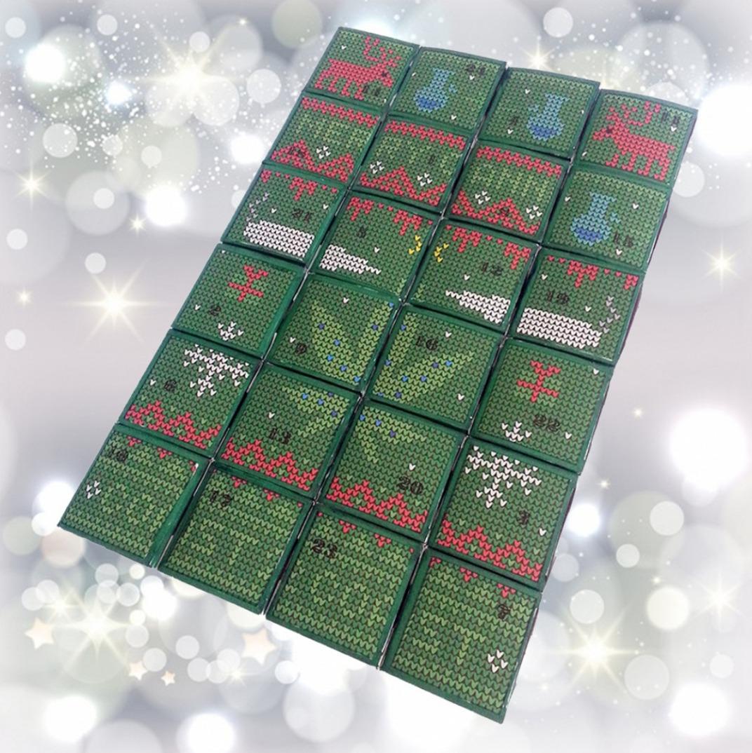 cannabis christmas calendar advent