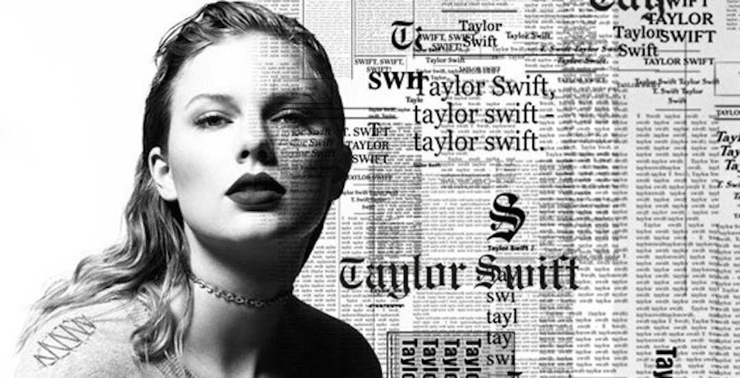 Taylor Swift announces Toronto concert date for 'Reputation' tour
