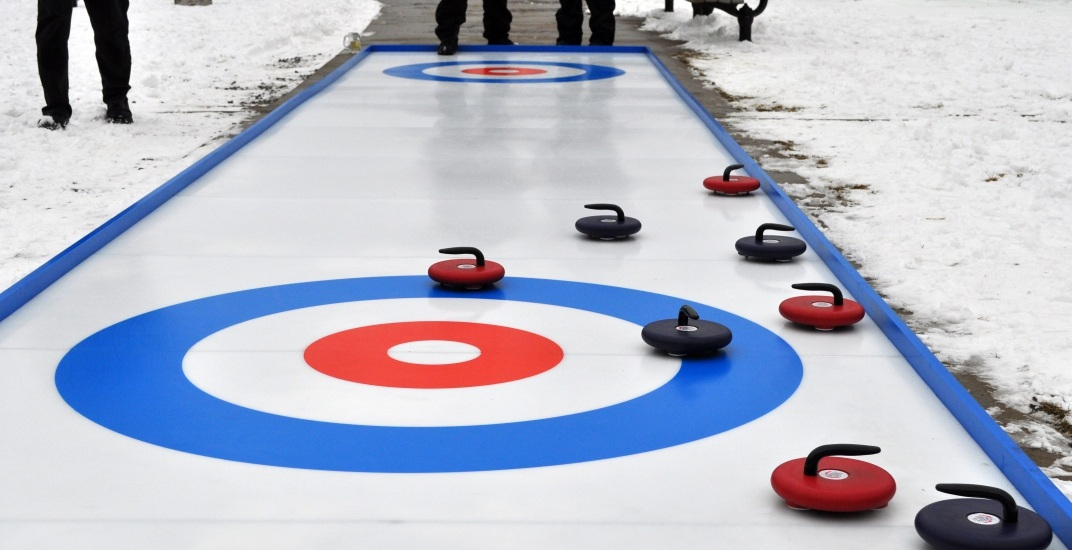 The Evergreen Brick Works is introducing FREE street curling this winter