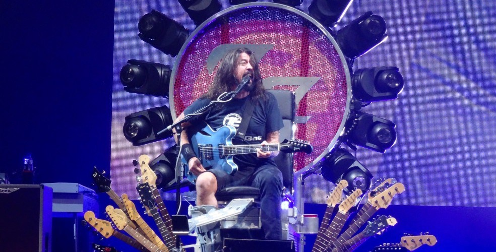Foo Fighters Vancouver 2018 concert at Rogers Arena