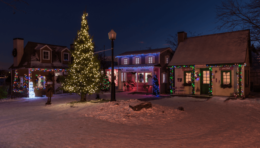 An enchanting Christmas village is taking over Laval this December