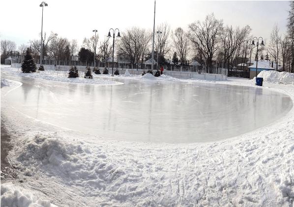 Skating trails