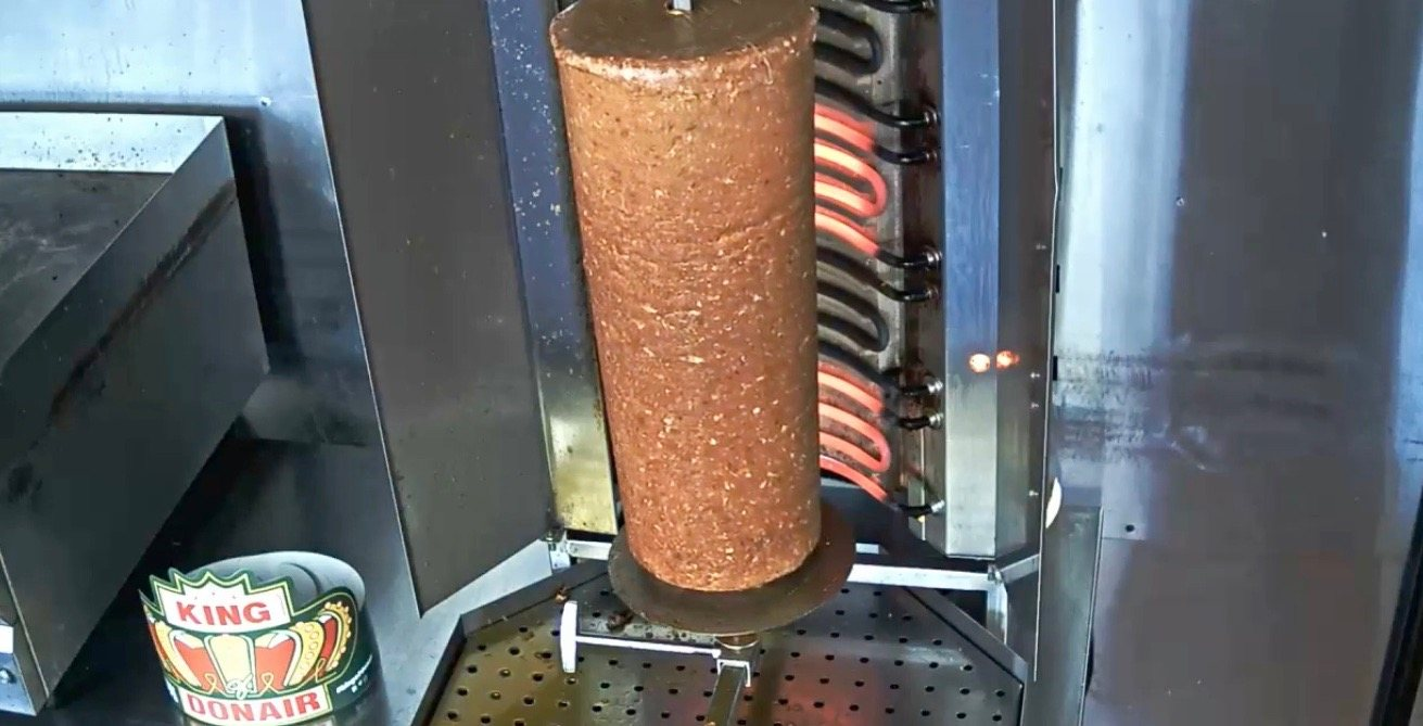 There's a 24/7 livestream of spinning donair meat in Nova Scotia