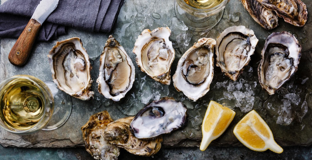 There's a big oyster festival happening in Calgary this month