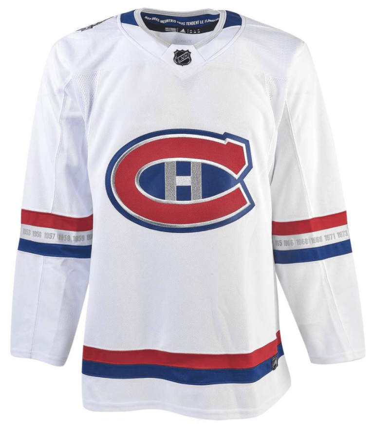 canadiens nhl100 jersey
