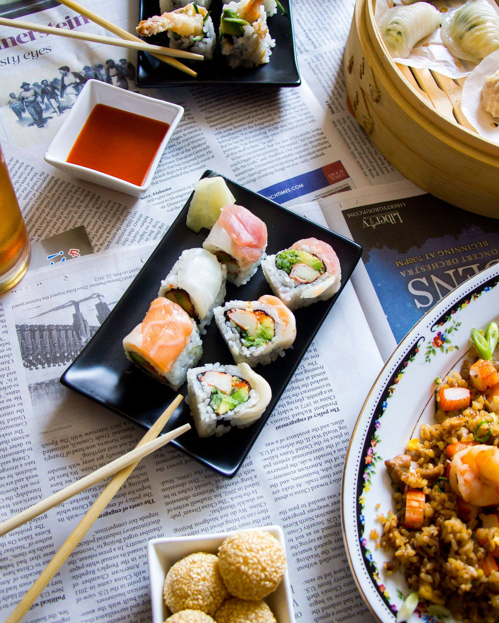 august 8 all-you-can-eat sushi dim sum