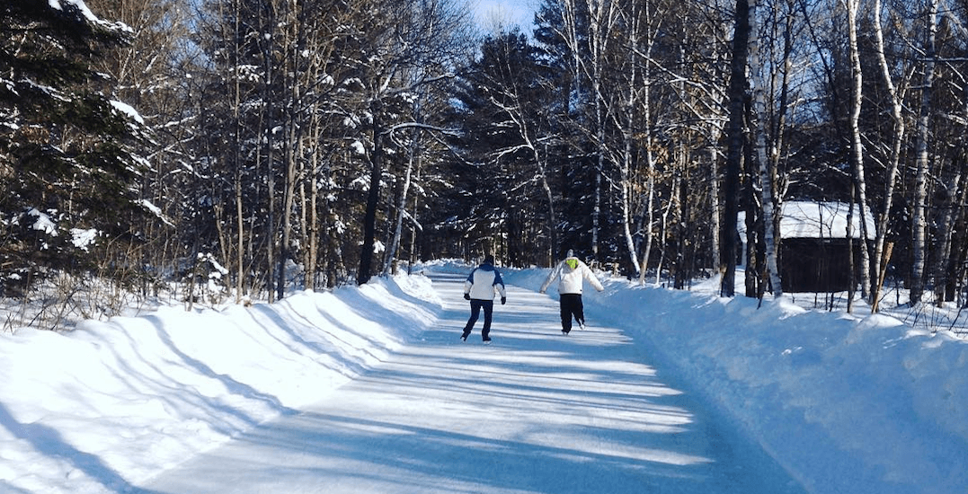 The 1.3 km Ontario skating trail you have to check out this winter (PHOTOS)