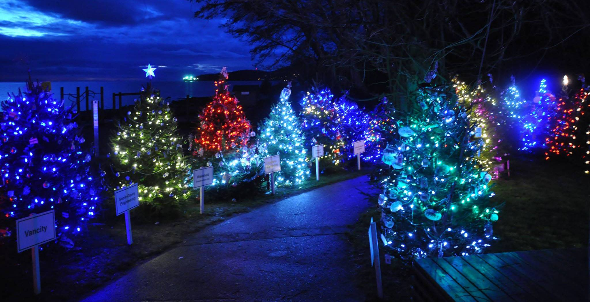 Dundarave Festival Of Lights Offers Biggest Outdoor