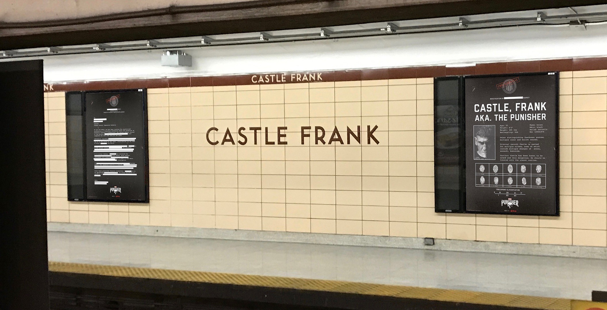 Netflix just outfitted a TTC station in the most clever way (PHOTOS)